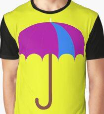 Bright Umbrella Graphic T-Shirt