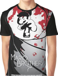 Mario the Spy Graphic T-Shirt