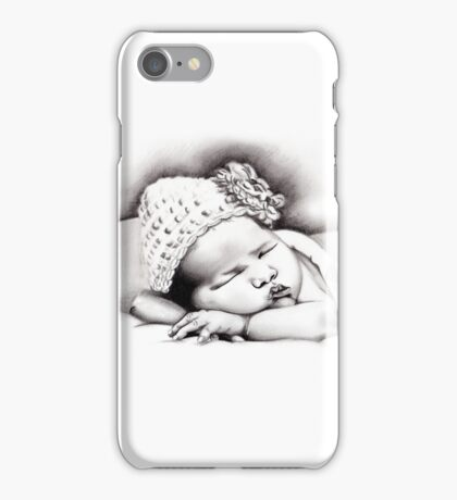My Daughter, Grace - charcoal portrait #2, clothing, stickers, iphone case iPhone Case/Skin