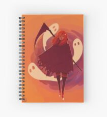 Reaper Girl in the Desert Spiral Notebook