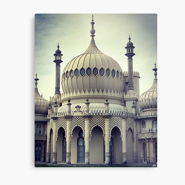 Royal Pavilion in Brighton Metal Print