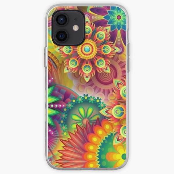 Psychedelic Madness iPhone Soft Case