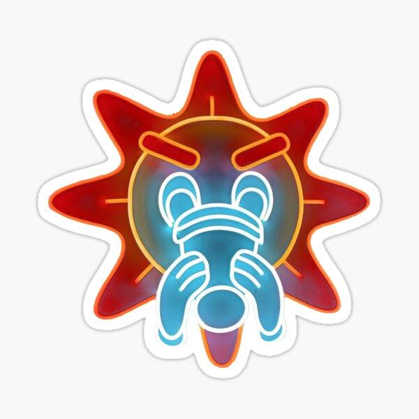Chief Keef GloGang Glo Man Logo Artwork Sticker