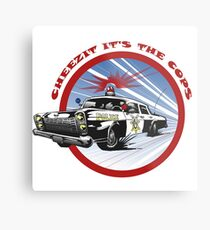 Cheezit!! It's the Cops Metal Print