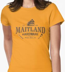 Hardware store: Same name, new owners Womens Fitted T-Shirt