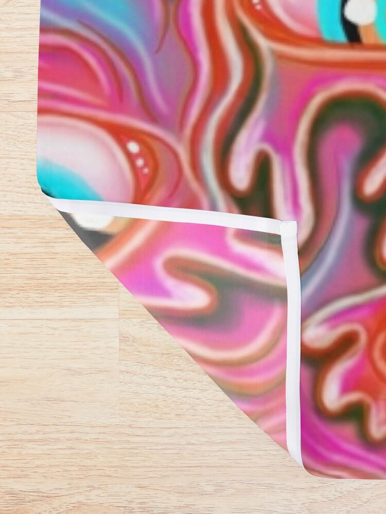 Alternate view of Eyeball Pattern - Color Alt Shower Curtain