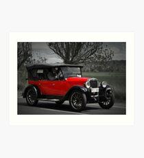 Chevrolet Capitol 1927 Art Print