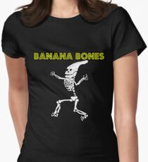 Banana Bones Womens Fitted T-Shirt
