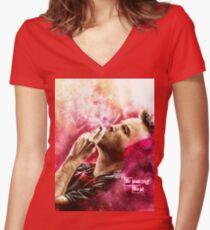 Camiseta entallada de cuello en V Breaking Bad - Jesse Pinkman