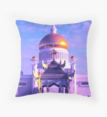 MOSQUE & MONARCHY Throw Pillow