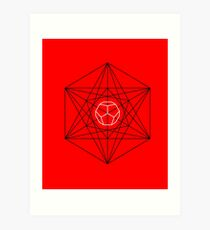 Dodecahedron special Art Print