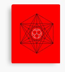 Dodecahedron special Canvas Print