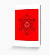 Dodecahedron special Greeting Card