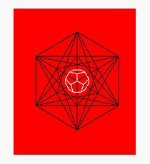 Dodecahedron special Photographic Print