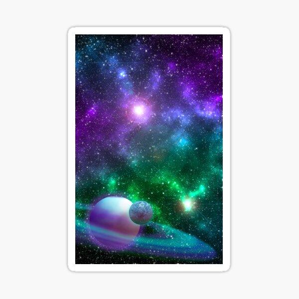 Fluorite Galaxy Sticker