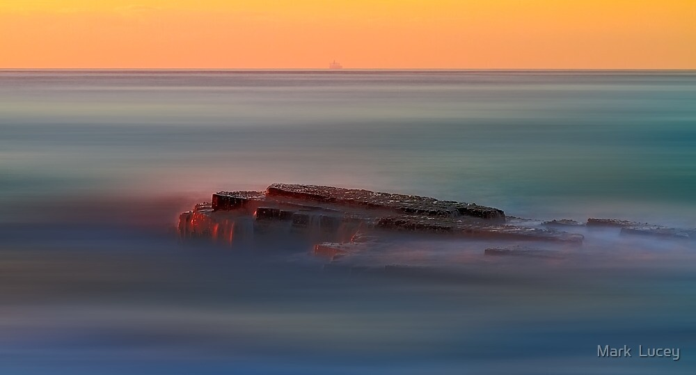 Rock of Inspiration by Mark  Lucey