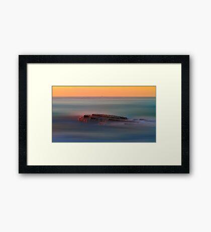 Rock of Inspiration Framed Print