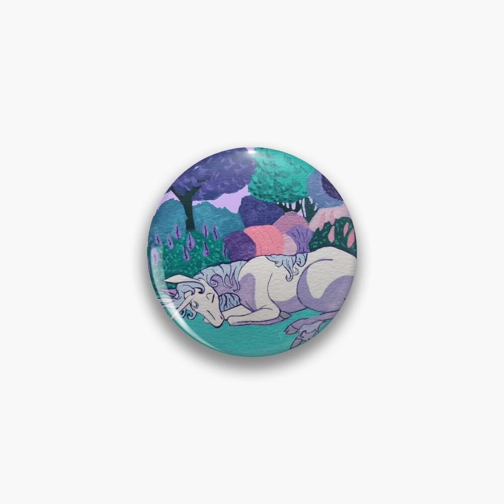 Sleeping Unicorn Pin