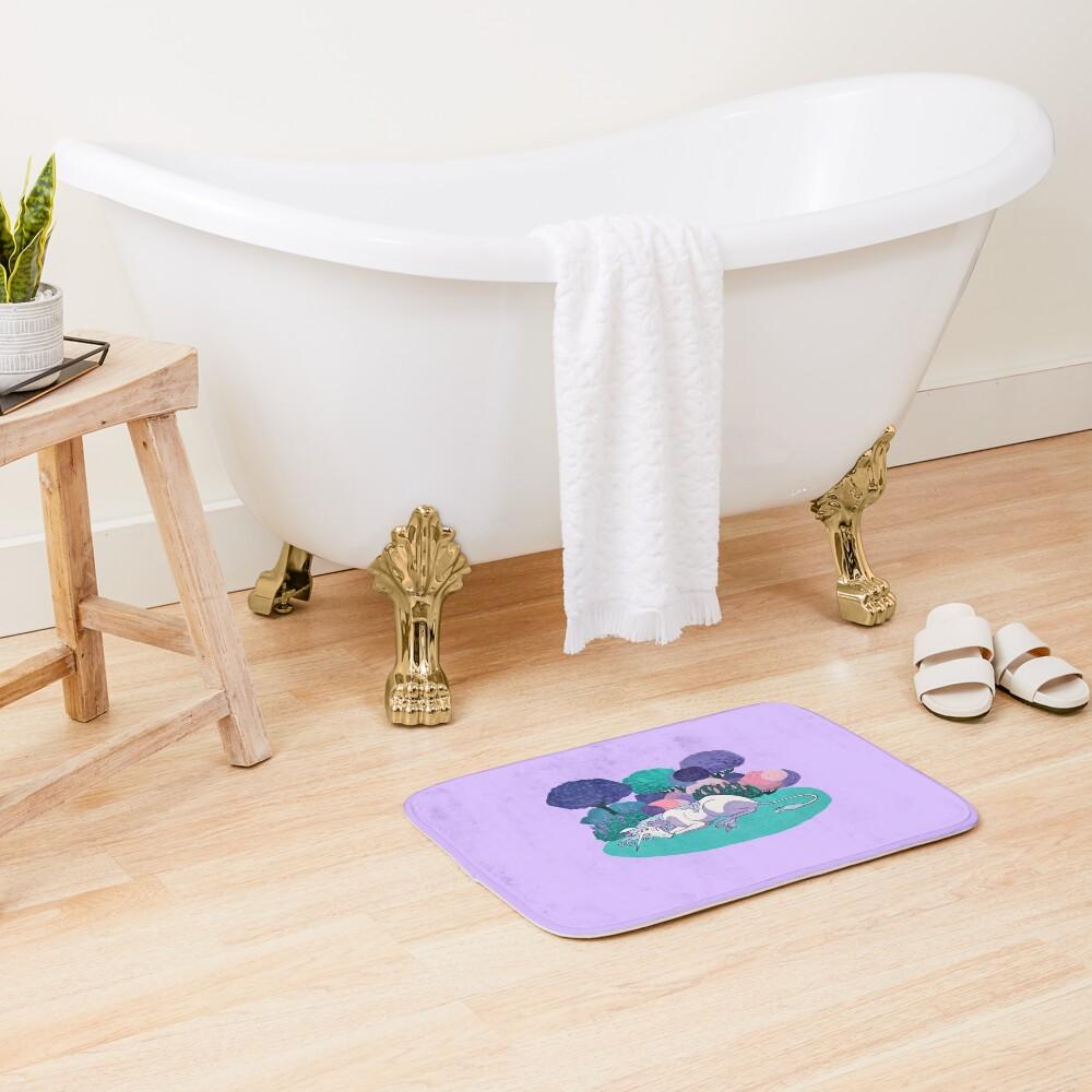 Sleeping Unicorn Bath Mat