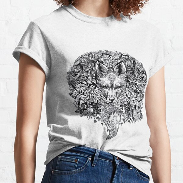 Hidden fox  Classic T-Shirt