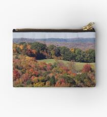 Colorful countryside Studio Pouch