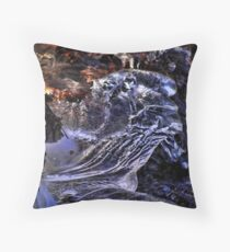 Frozen Formation Throw Pillow