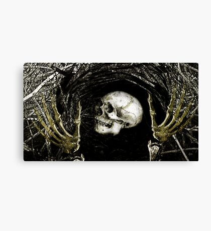 At Last I've Found You Canvas Print