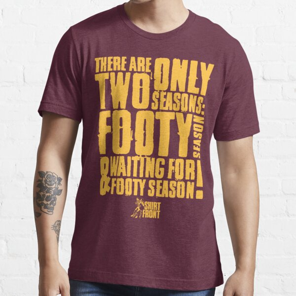 Two Seasons: Gold on Maroon Essential T-Shirt