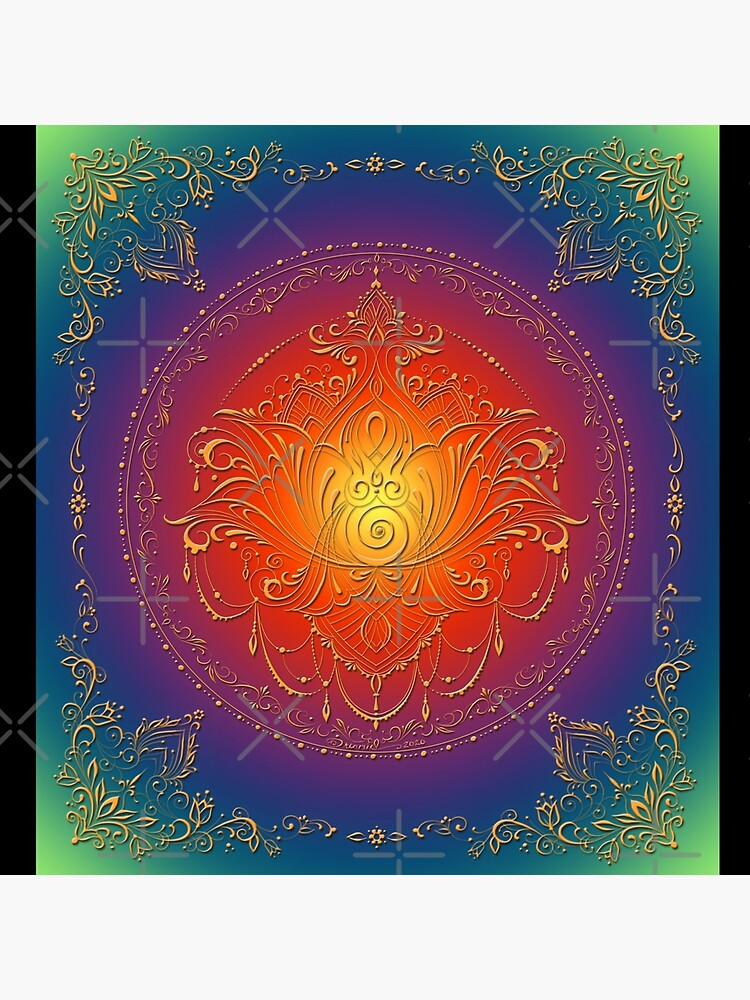 Lotus Goddess in blooming Rainbow Chakra by dreamie09