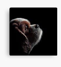 Pet Profile Canvas Print