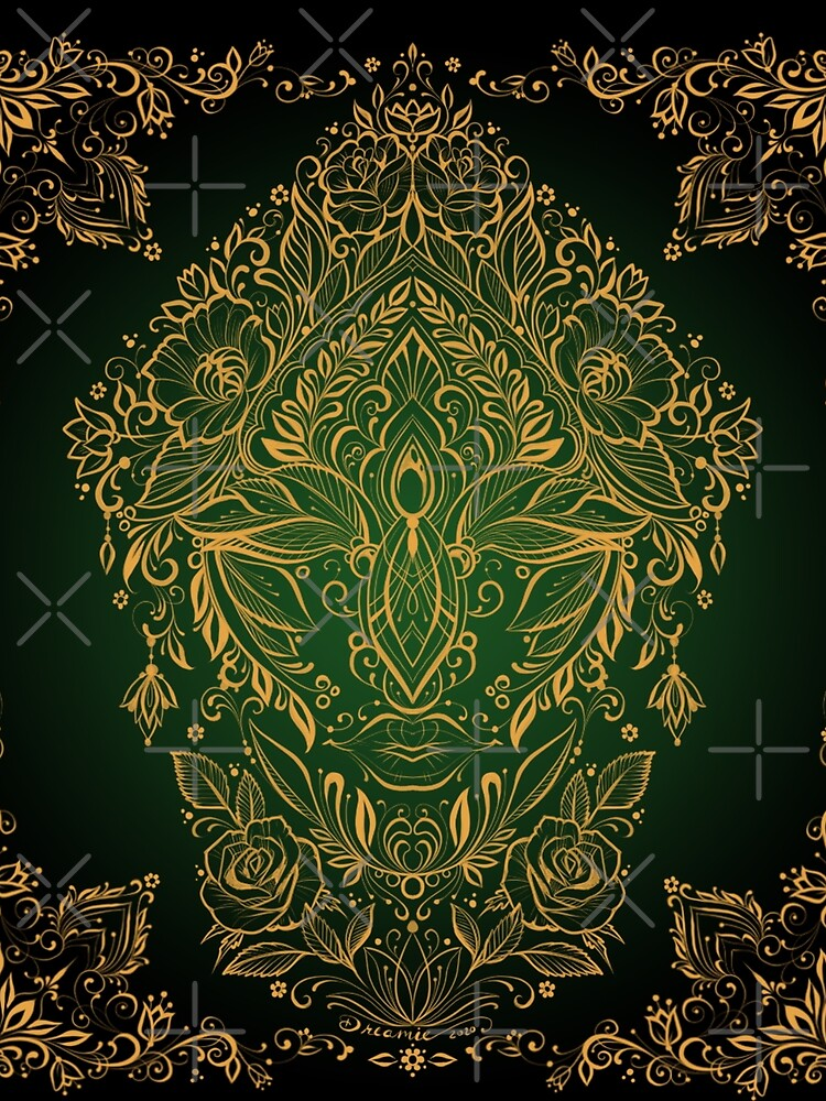 Dreamie's Green Goddess - Dark by dreamie09