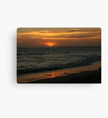 Sunset at Queenscliff #4 Canvas Print