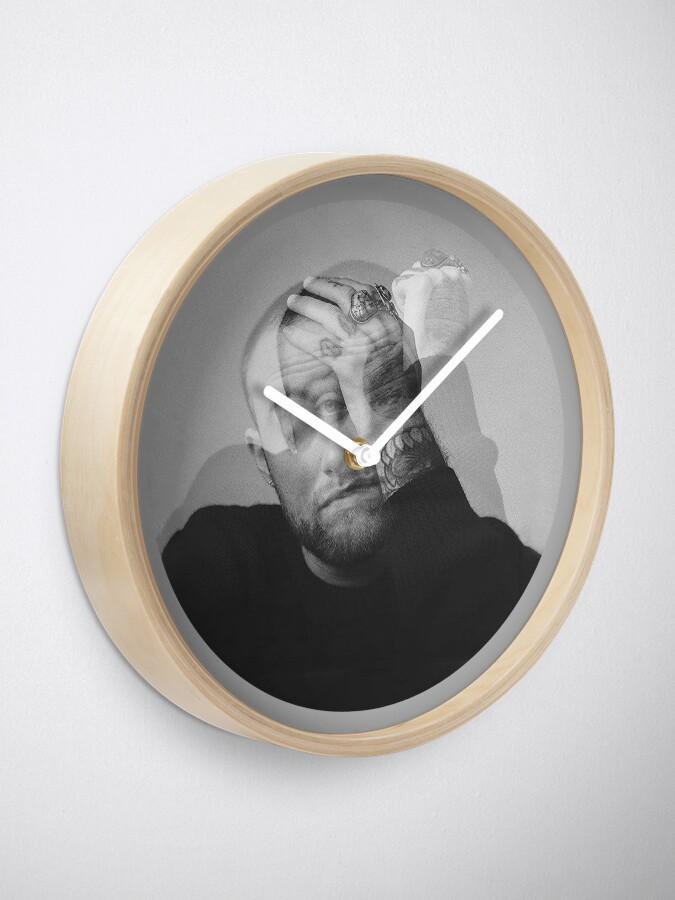 Alternate view of Mac Art Poster Clock