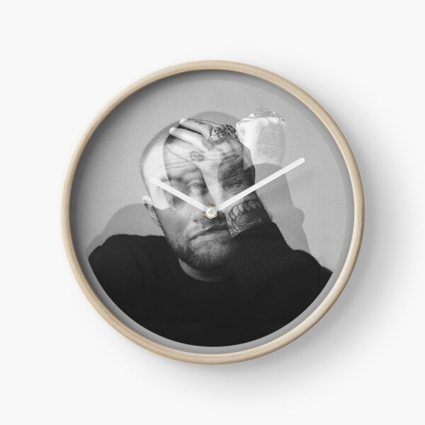 Mac Art Poster Clock