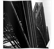 Forth Rail Bridge - Iconic Poster