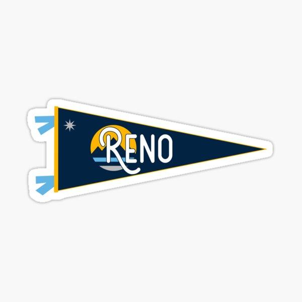 Reno Nevada Oval Vinyl Decal Sticker City Town College University