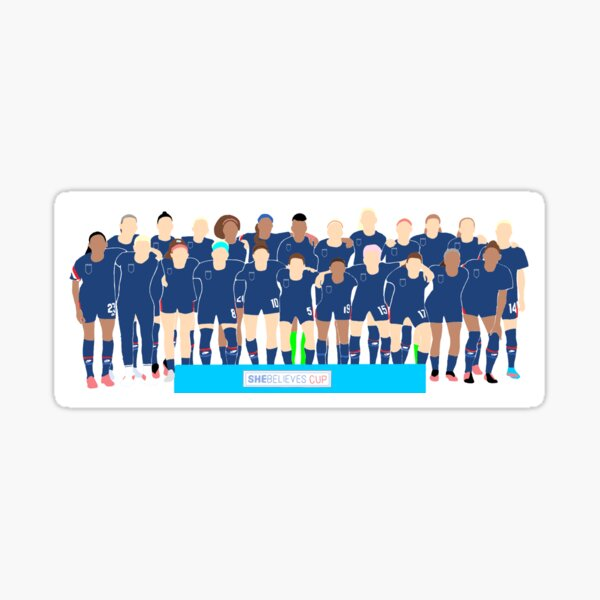 USWNT 4-stars only Sticker