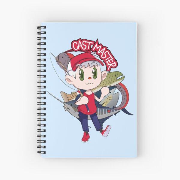 Cast Master Spiral Notebook