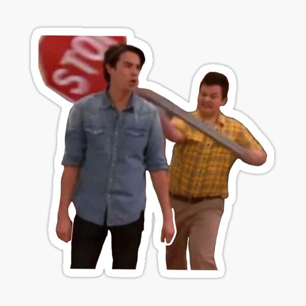 Gibby iCarly meme  Sticker