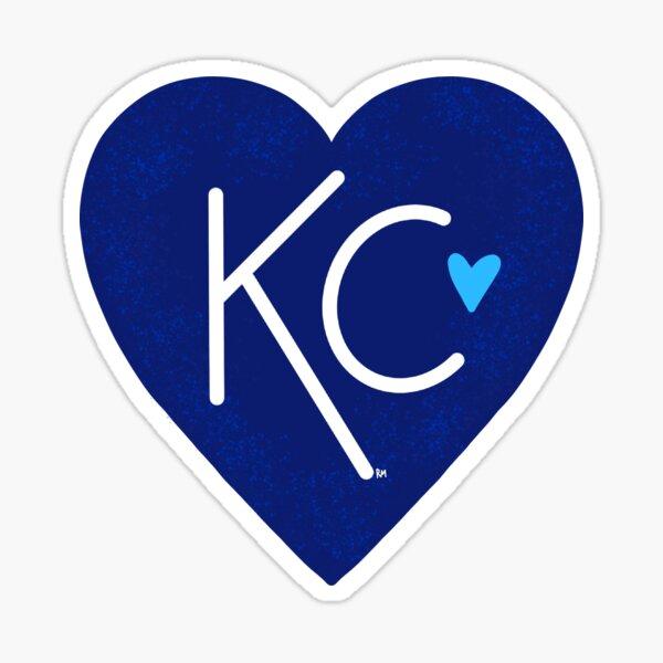 KC Love Navy & Blue Sticker