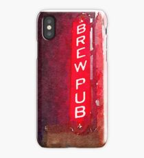 Brewpub iPhone Case/Skin