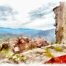 Rocca Cilento: from the castle by Giuseppe Cocco