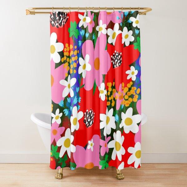 Flower Power! Shower Curtain