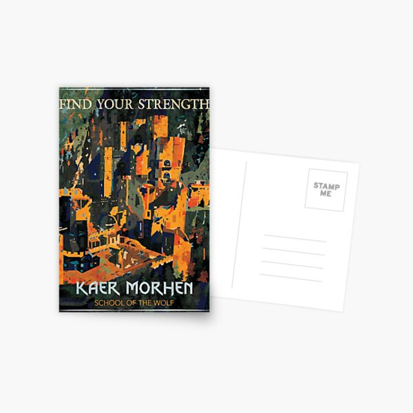 Find Your Strength Postcard