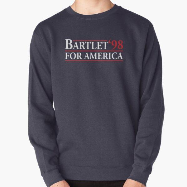 Bartlet for America (white variant) Pullover Sweatshirt