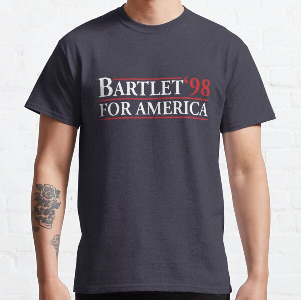 Bartlet for America (white variant) Classic T-Shirt