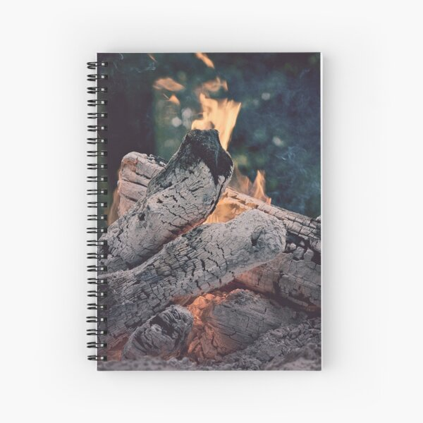 Evening Fire Spiral Notebook