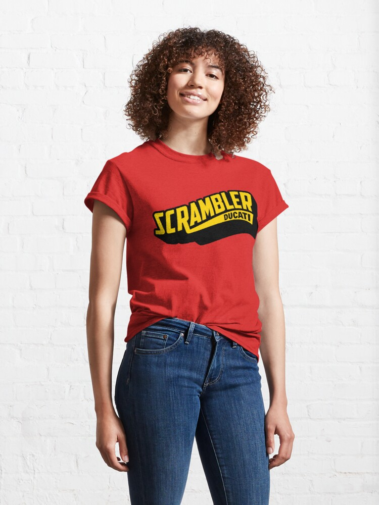Alternative Ansicht von Scrambler Ducati Classic T-Shirt
