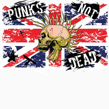 Punk's Not Dead by TowlerArt