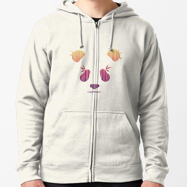 Mens Zipper Hoodies Sweatshirt Long Sleeve Coat with Pockets Panda Bamboo